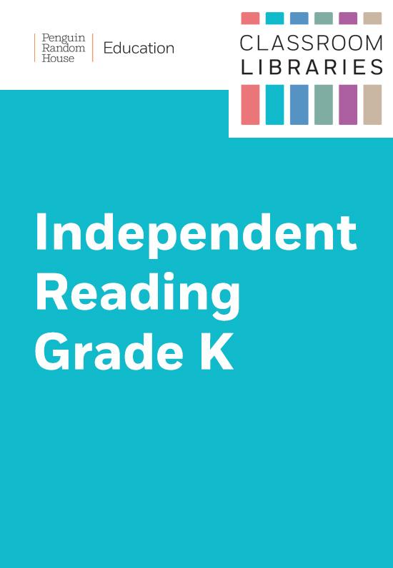 Classroom Libraries: Independent Reading – Grade Kindergarten